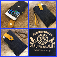 Denim iPhone cases